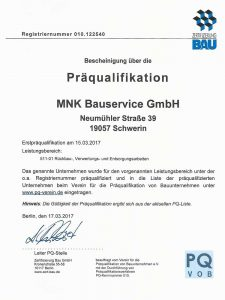 MNK-ABBRUCH-Qualifikation